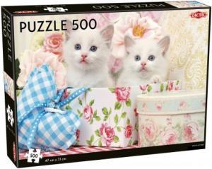 Pussel White Kittens 500 bitar
