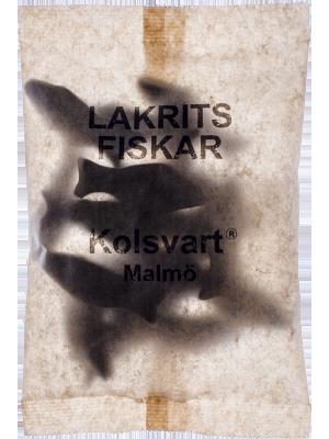 Kolsvart Lakritsfiskar