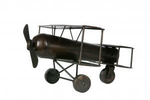 Flygplan antik brun
