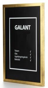 Galant Guld 40x50