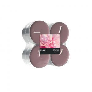 Doftvärmeljus pink peony 8-pack