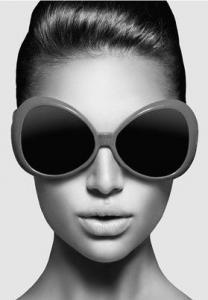 Poster 50*70 Solglasögon