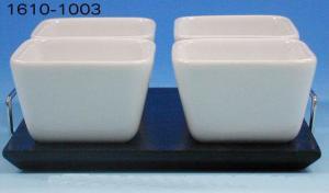 Skålset på bricka 5-delar
