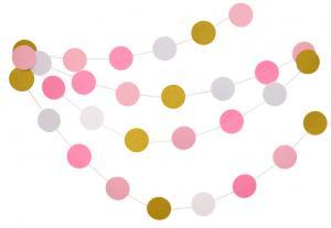 Girlang mix pink 3,6 meter