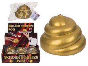 Squeeze golden poo