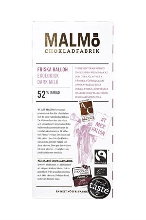 Malmö Chokladfabrik Apelsinskal 65%