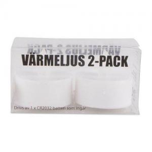 Led-värmeljus 2-pack