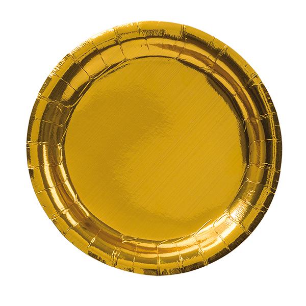 Tallrik guld