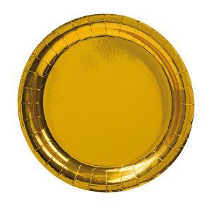 Assiett guld