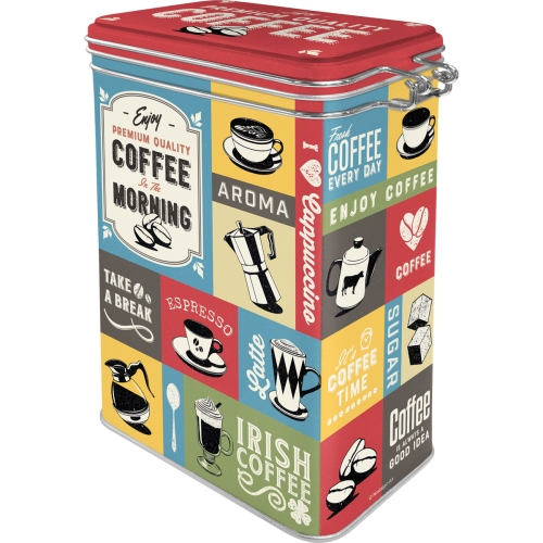 Box coffee morning