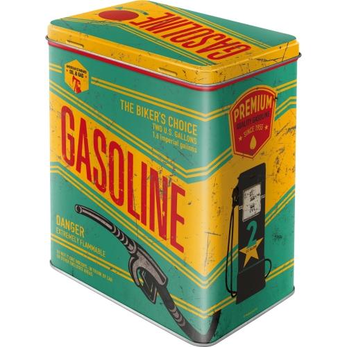 Box gasoline