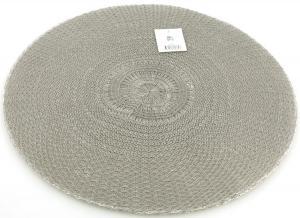 Bordstablett rund grå