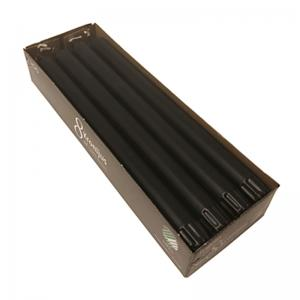 Inicio Kronljus svart 100% stearin