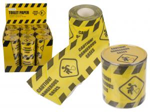 Toalettpapper caution