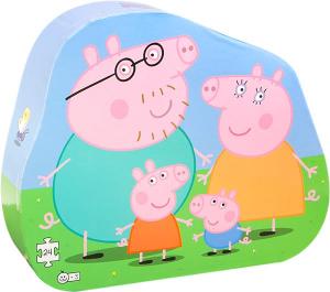 Peppa Pig Familjepussel