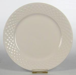 New White Assiette