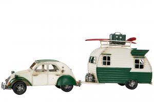 Bil och husvagn Citroen