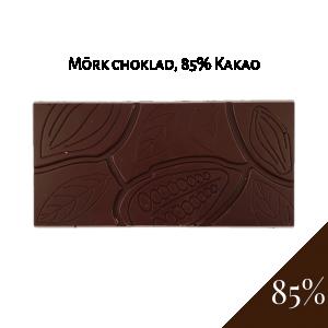 Pralinhuset 85% Mörk choklad