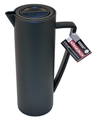 Termoskanna svart 1 liter