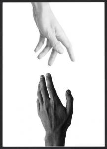 Poster 50x70 Hands Reach