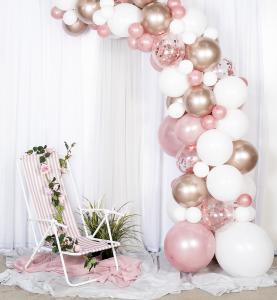 Balloon arch kit - ballongbåge roséguld