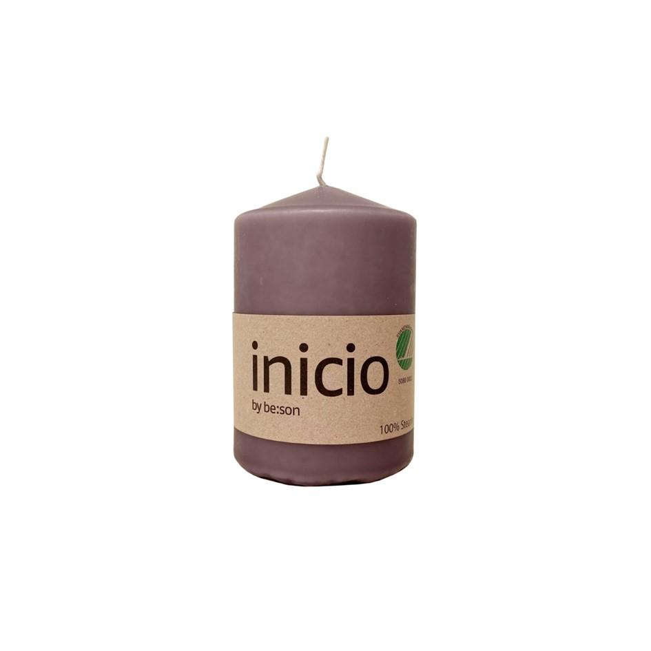 Inicio blockljus lavendel litet