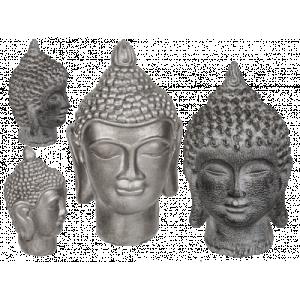 Dekorationsfigur buddhahuvud