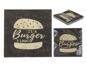 Servett burger time