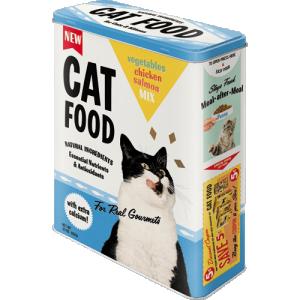 Box cat food