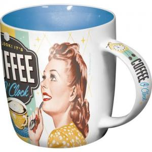 Mugg coffee o clock