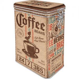 Box classic bean coffee