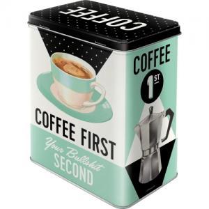 Box coffee first