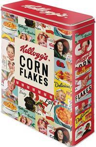 Box Kellogg´s com flakes colla