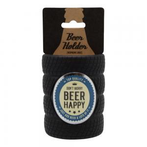 Ölhållare don't worry beer happy