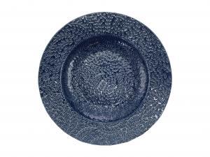 Uppläggningsfat etrusk blå