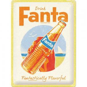 Skylt Fanta Bottle