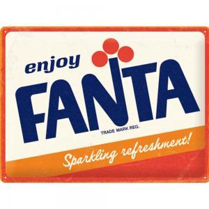 Skylt Fanta logo