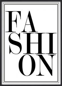 Poster 30x40 Fashion