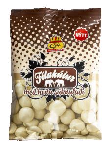 Filakulur med vit choklad