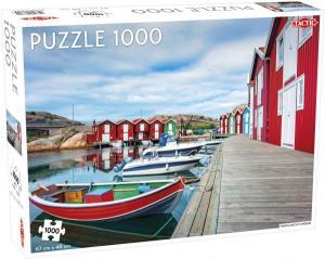 Pussel Fishing Huts in Smögen 1000 bitar