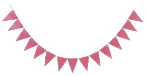 Flaggspel rosa 3,6 meter