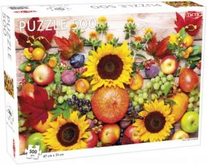 Pussel fruit and flowers 500 bitar