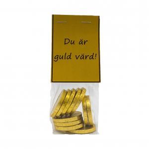 Budskapspåse du är guld värd