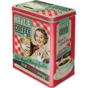 Box have a coffe