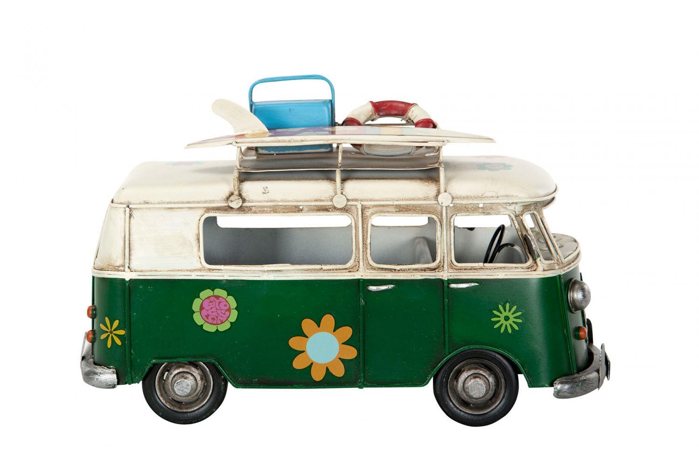 Hippiebuss grön