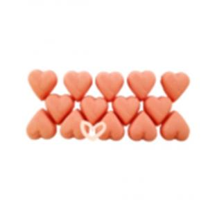 Chokladhjärtan jordgubb