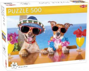 Pussel holiday hounds 500 bitar