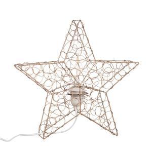 Lampa stjärna i smide