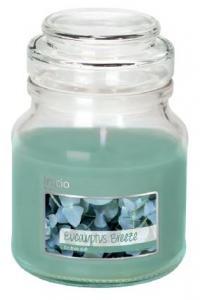 Doftljus i glas eucalyptus