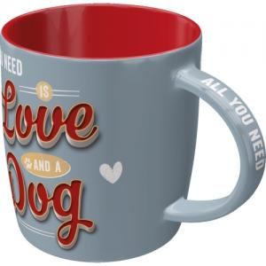 Mugg love dog